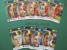 Panini Adrenalyn FIFA 365  9 Game Changer Bale Müller Götze Suarez all complete