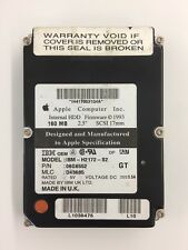 "Genuine Apple SCSI Hard drive 2.5"" 160 MB. SCSI 17mm, IBM-H2172-S2"