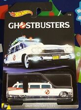 HOT WHEELS GHOSTBUSTERS ECTO-1 #7/8 '69 CADILLAC DIECAST SCALE 1/64 NEW