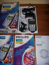 PHILIPS GENIE 2000 GSM SILVER EDITION PARI AL NUOVO+ACCESSORI COMPLETI SCATOLA