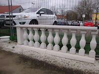 Balustraden Höhe 81 cm. Balustrade Baluster Marmor Geländer