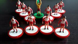 Subbuteo LW Team Stoke City - REF 482 - Referenced & Named Box - ExCon