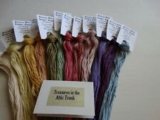 Treasures in the Attic Trunk , over dyed floss GIFT BOXED! 12 skeins) 240 yds