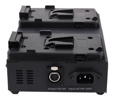 Sony V-Mount V Lock Li-on Dual Battery Charger + 4-Pin XLR Output Power Supply