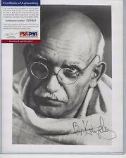Ben Kingsley Autographed 8x10 Photo Hollywood TV Film English Actor PSA COA