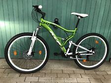 "27,5"" Attack KCP Taglia M rh48cm Uomo MTB Mountain Bike Fully gioventù Enduro Verde"