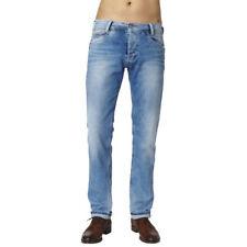 Stone-Washed Herren-Jeans aus Baumwolle in normaler Größe