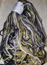 SKEIN/HANK OF (DISC) ARTYARNS HANDPAINTED STRIPES ~ COLOR #140 OLIVE/GREY/CREAM