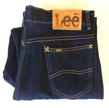 NWOT Vintage Lee High Waisted Mom Jeans Dark Size 16 Made in the USA