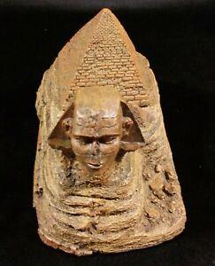 Egyptian sphinx/pyramid Scenic Ornamental Tricket/stash Box