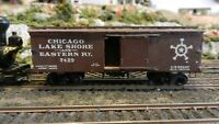 Central Valley HO Old Time Boxcar, Chicago, Lake Shore & Eastern, Exc.