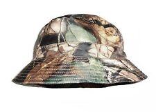 OAK árbol Camo Showerproof Bush Hat Cubo resistente al agua y el viento Boonie Camping