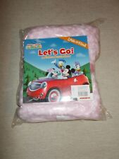 NWT Disney Book and Pink Blanket for Baby