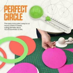 Cutting Tool Patchwork Compass Circle Cutter For Paper Cards Scrapbooking H1T2