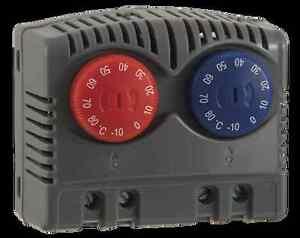 Seifert Variable twin thermostat NCNO -10°C - +80°C