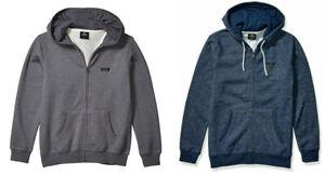 Rip Curl Mens Core Full Zip Hoodie Fleece Casual Sweatshirt Jumper Jacket S-XXL