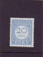 NVPH P58 Port Portzegel 1912-1920 Postfris