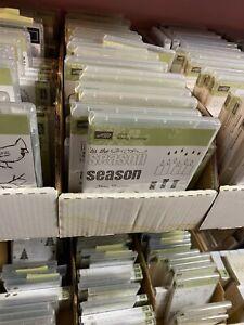 Stampin' Up! Variation of Flower Stamp Sets *Retired*