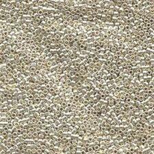 DB035 - Miyuki Delica 11/0, Galvanized Silver - Metallic - 5g seed beads