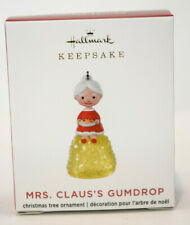 Hallmark  Mrs Claus's Gumdrop  Miniature Ornament 2020