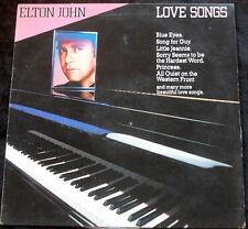 ELTON JOHN Love Songs LP
