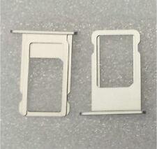 Las tarjetas SIM soporte tray adaptador trineo holder slot Weiss para iPhone 6s 4.7