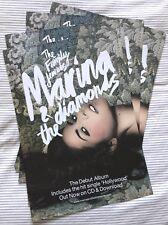 LAST FEW! Marina and the Diamonds 2010 Promo Poster Diamandis Froot Lana Del Rey