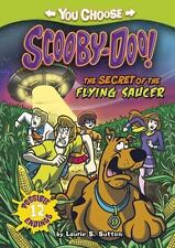 The Secret of the Flying Saucer (You Choose Stories: Scooby-Doo)-ExLibrary