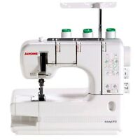 Janome CoverPro 900CPX Coverstitch Serger Machine with Bonus Bundle