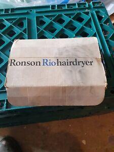 Vintage Ronson Rio Hair Dryer