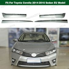 CHROME Door Side Molding Trim SET For Toyota Corolla 2014-2016 Sedan EU Model