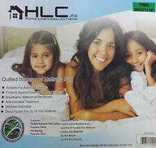 Twin Bedbug Water Resistant Quilted Mattress Cover Protector - HLC