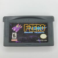 F-Zero: Maximum Velocity (Nintendo Game Boy Advance 2001) GBA Cartridge Only
