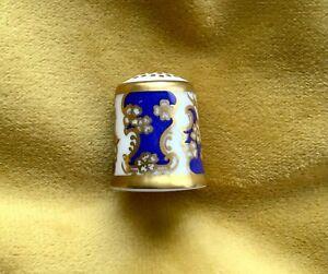 Royal Crown Derby 'The Art Nouveau' China Thimble B/77