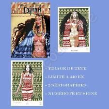 Tirage de Tete MIRALLES Djinn 09 Le Roi Gorille 440ex signé + 2 ex-libris