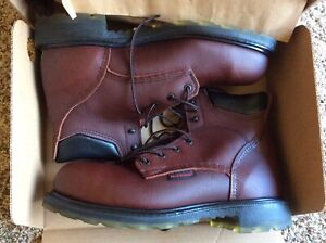 New Red Wing 2406 Steel Toe Leather Work Boots Waterproof Sz 10 D