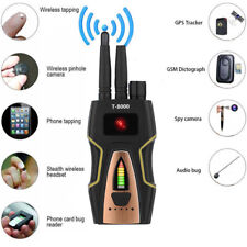 T-8000 PRO RF SPY BUGS FREQUENCY SCANNER SWEEPER GSM GPS TRACKER FINDER DETECTOR