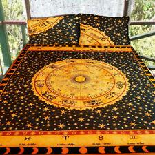 Indian Mandala Zodiac Duvet Cover Blanket Ethnic Comforter Quilt Doona Cover Set