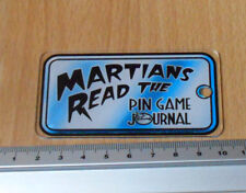 Bally 1999 Revenge From Mars Promotional Plastic Keyfob