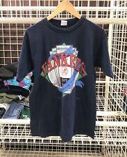 Vtg 90's Salem New York NY Yankees Stadium Tickets MLB T Shirt Tee Sz XL A15