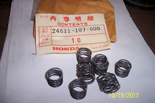 10 PACK SPRING GEAR SHIFT PLATE HONDA XL100/125 ATC200 XR185/200 H#24631-107-000