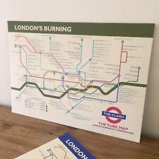 The Clash - London's Burning (The Tube) Art Print