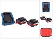 Bosch GAL 1830 W Wireless Akku Ladegerät + 2x Bosch GBA 18V 2,0 Ah MW-B Akkus