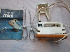 VINTAGE KENWOOD HAND MIXER model A.361 with wall bracket and instruction booklet