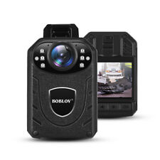 Portable 1296P Police Body Webcam Night Vision Video Camera Looping Recorder