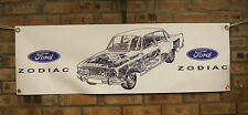 ford zodiac mk3    large pvc banner  garage  work shop man cave classic show