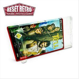 Schutzhüllen für PC Spiele in OVP 0,5 mm game protectors Box case Folie