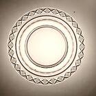 Bakewell Flint Glass Pittsburgh Cut Diamonds Set Of 12 Plates 1800's Estate A+