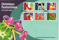 I.O.M 2016 CHRISTMAS PANTOMIMES FDC LOT R4811