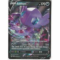120/202 Sableye V | Rare Holo V Card | Pokemon TCG Sword and Shield S&S Base Set